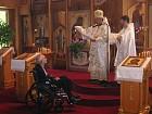 Bishop Nikon reads Synodal Gramata for Protodeacon Simeon
