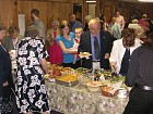 Parish join Bishop Nikon for a luncheon after Liturgy