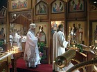 Deacon John Cook leads Bishop Nikon in censing