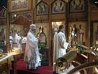 Deacon John Cook leads Bishop Nikon in censing