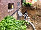Cutting into basement - 5/25/2012