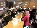 Parishioners enjoying Pre-Lenten Fellowship
